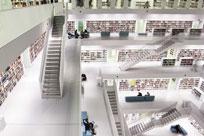 کتابخانه عمومی بوستون در بوستون، ماساچوست، ایالات متحده