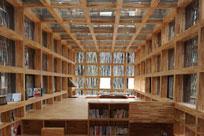 خوزه واسکونسلوس کتابخانه در مکزیکو سیتی، مکزیک