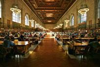 کتابخانه سینت-ژنویو در پاریس فرانسه