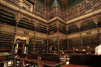 سالن مطالعه سلطنتی پرتغالی ها در ریودوژانیرو برزیل