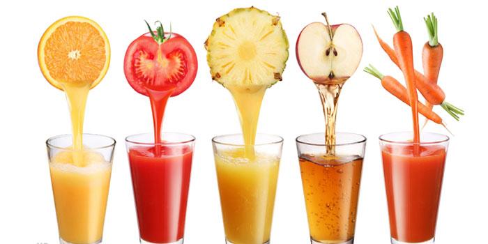 خاصیت های مواد غذایی - آب میوه