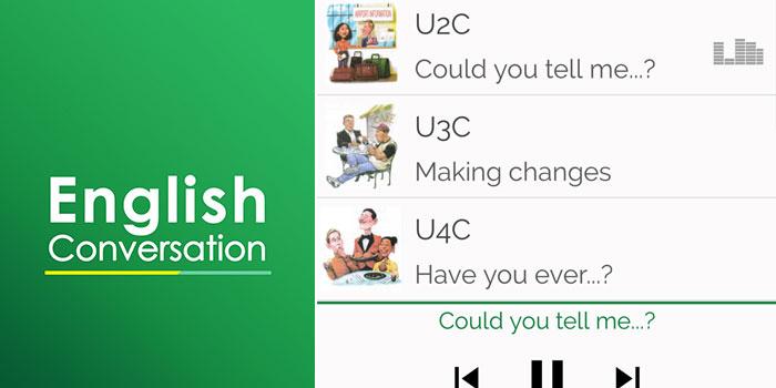 اپلیکیشن آموزش مکالمه زبان انگلیسی