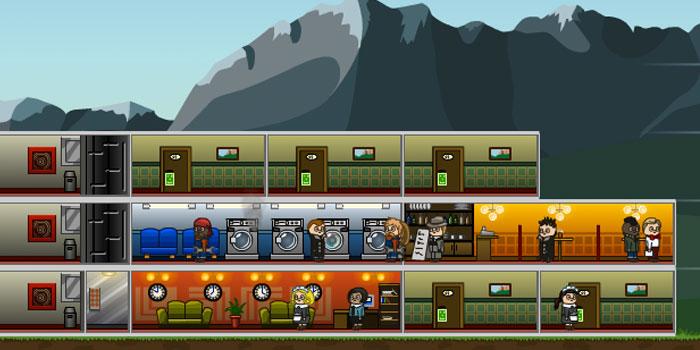 بازی آنلاین ساخت و توسعه هتل