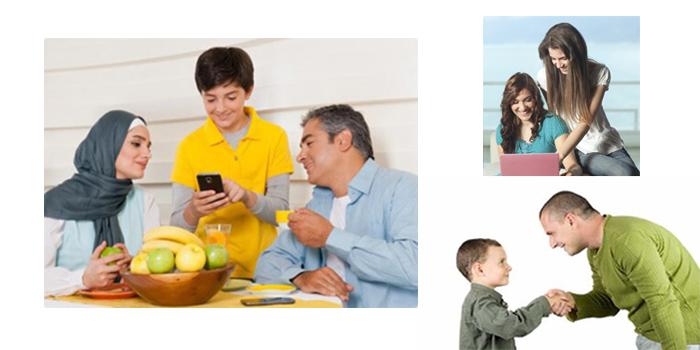 والدین و دوستی های فرزندان
