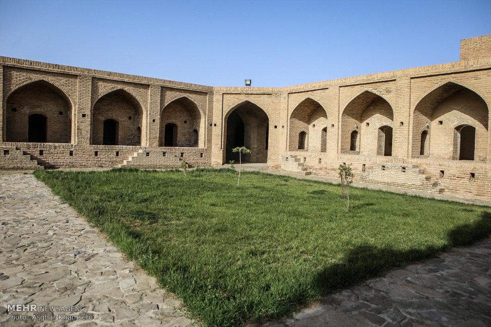 کاروانسرای شاه عباسی لاسجرد